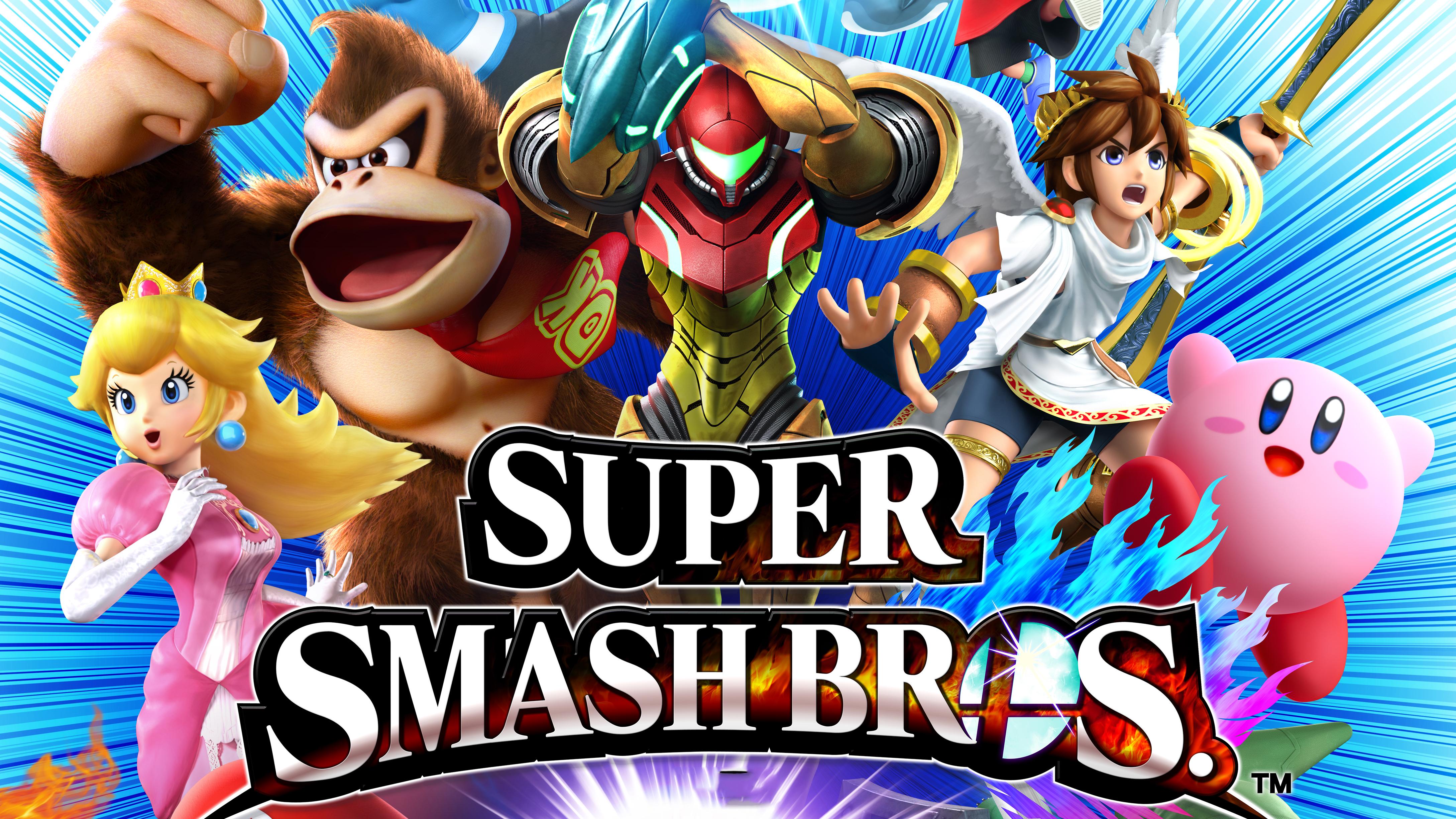 Smash Bros Wii U : Super smash bros for wii u les annonces de nintendo