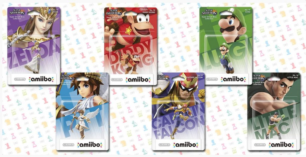 amiibo 2eme vague Fille Geek