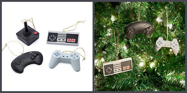 Décoration Noël manettes Fille Geek
