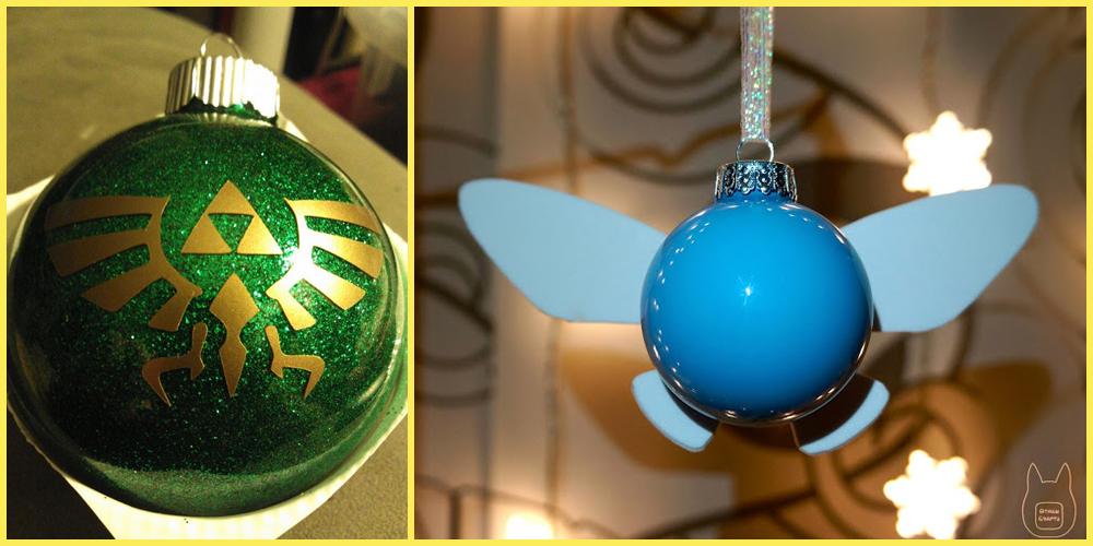 Décoration Noël Zelda Fille Geek