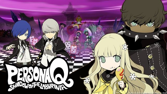 Persona Q Fille Geek