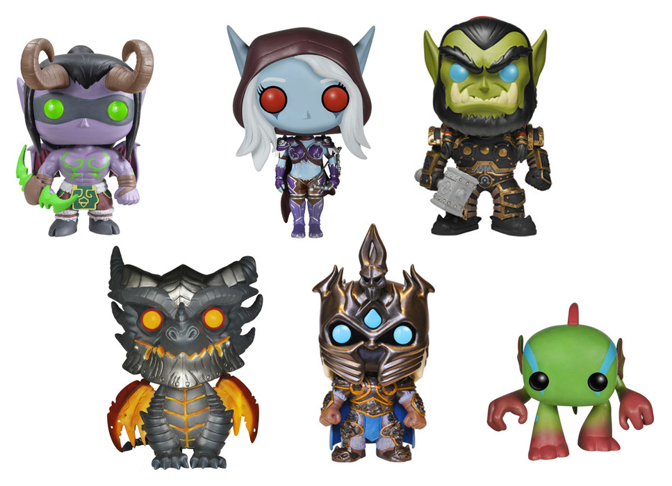Funko Pop World of Warcraft Fille Geek