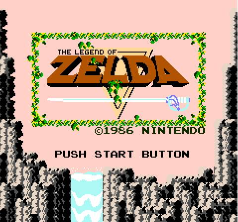 The Legend of Zelda NES Fille Geek