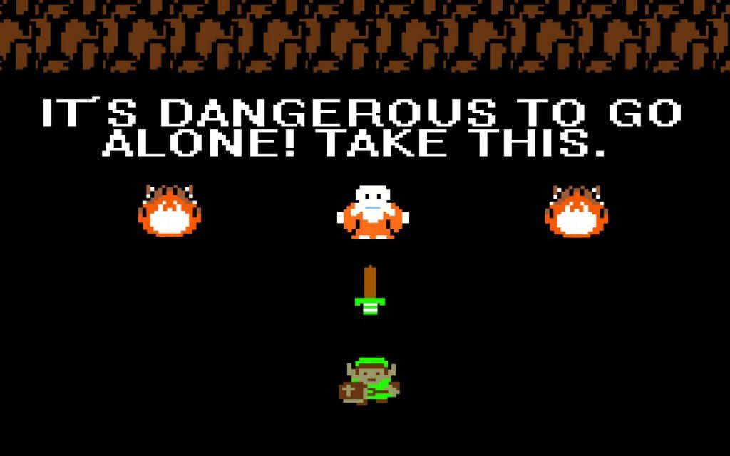 The Legend of Zelda NES Fille Geek