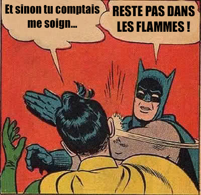 Batman WoW meme Fille Geek
