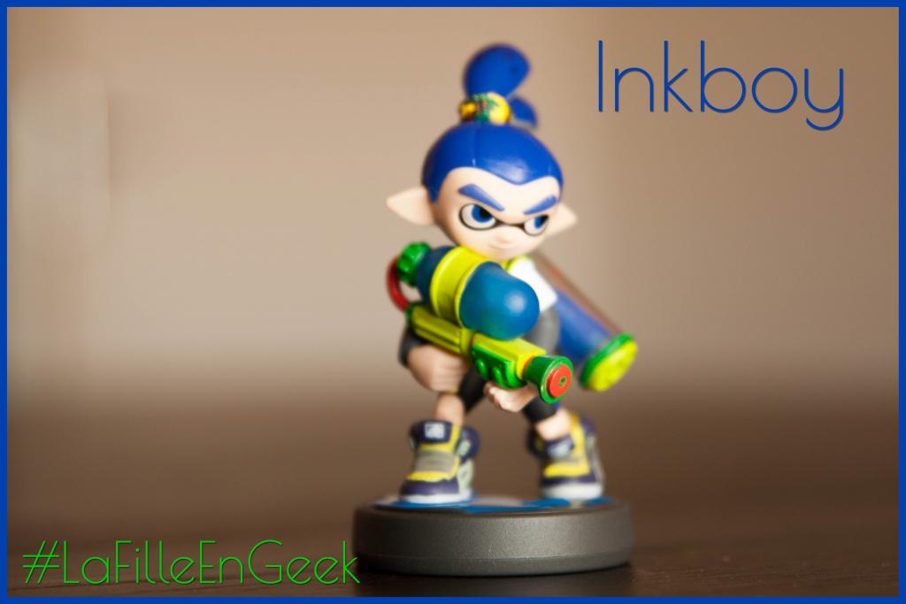 amiibo Inkboy Fille Geek