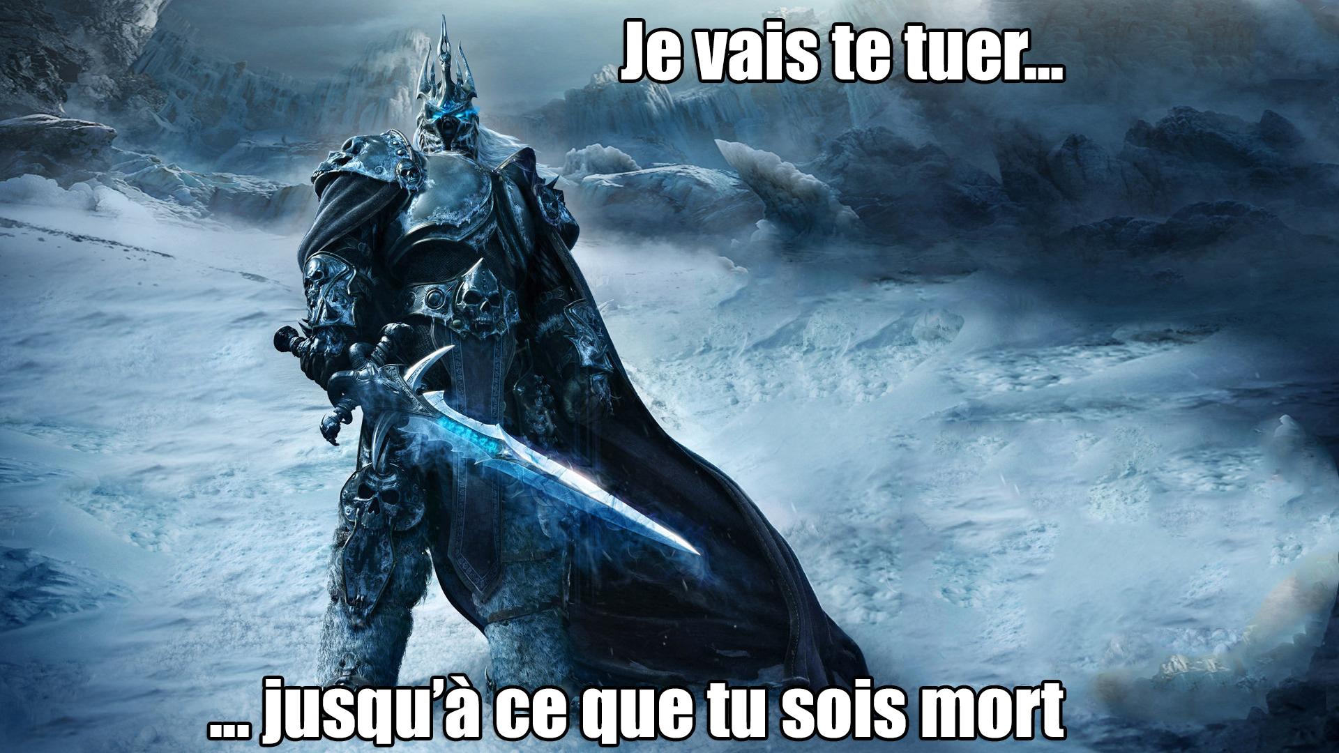 Lich King meme Fille Geek