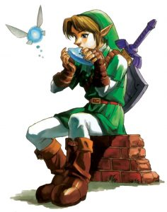 Link and Navi Fille Geek