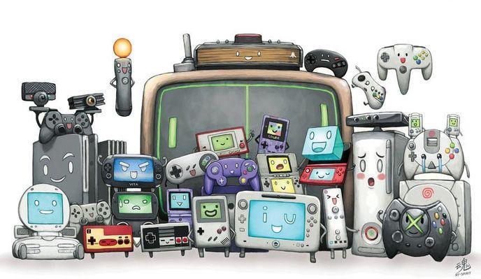 Consoles Fille Geek