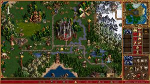 Heroes 3 map Fille Geek