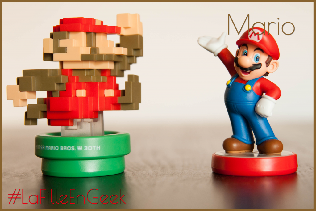 Amiibo Mario 30th anniversary Fille Geek