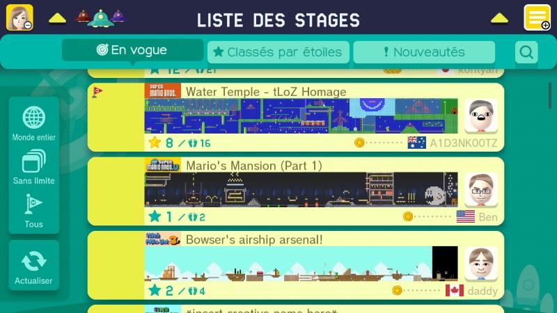 Super Mario Maker Fille Geek
