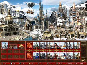 Heroes 3 Tower ville et créatures Fille Geek