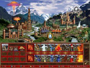 Heroes 3 Conflux ville et créatures Fille Geek