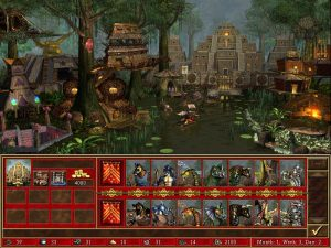 Heroes 3 Fortress ville et créatures Fille Geek
