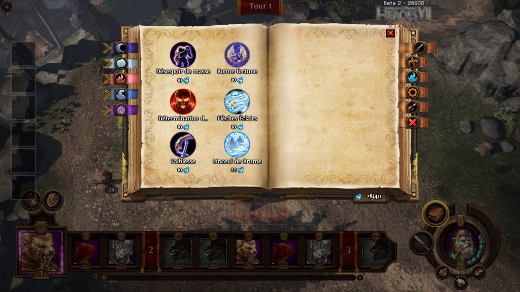 Might & Magic Heroes VII Fille Geek