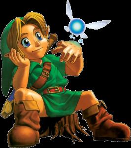 Navi et Link Fille Geek