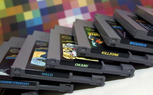 cartouches NES Fille Geek