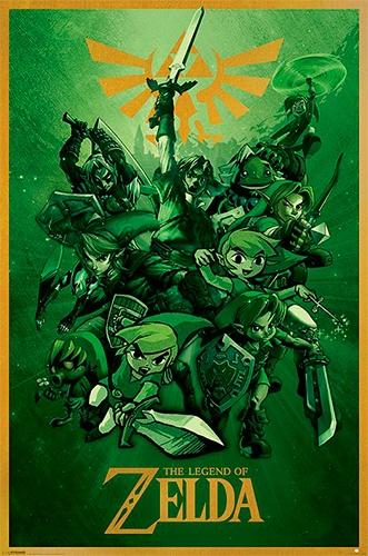 Calendrier Avent Geek.Calendrier De L Avent 2015 Poster Zelda A Gagner La Fille
