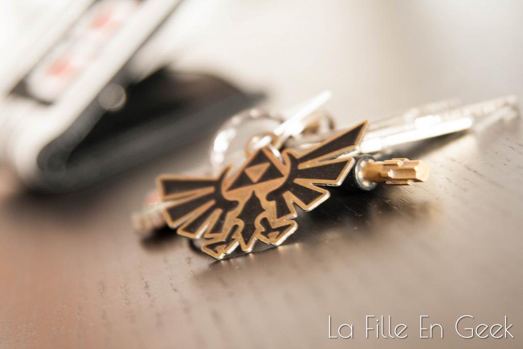 porte-clés Zelda Fille Geek