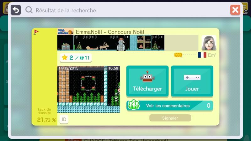 Super Mario Maker Noël Fille Geek