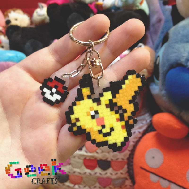 pikachu-pokeball Geek-crafts