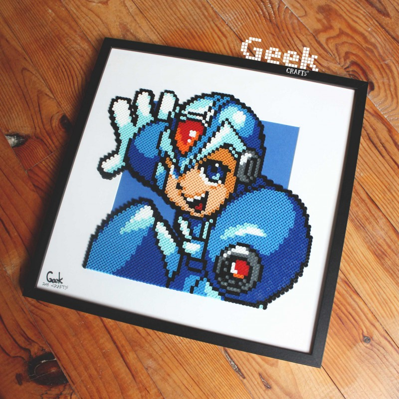 tableau-megaman-Geek-crafts