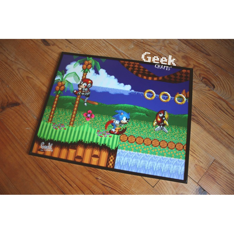 tableau-sonic-emerald-hill-Geek-crafts