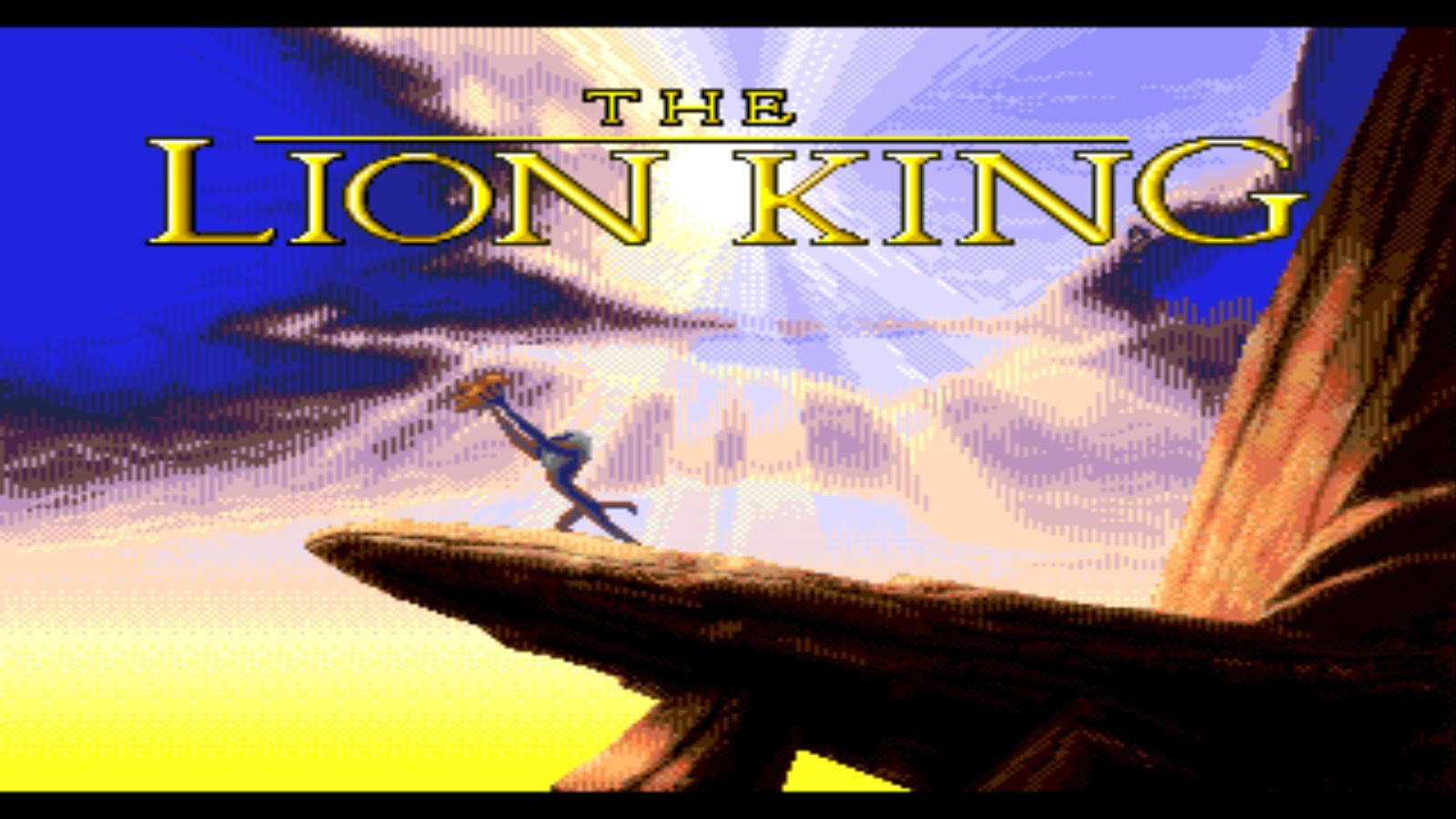 The Lion King Megadrive Fille Geek
