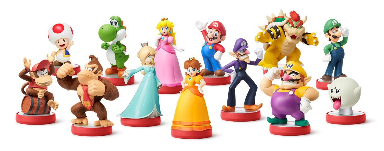 amiibo Mario Party Fille Geek