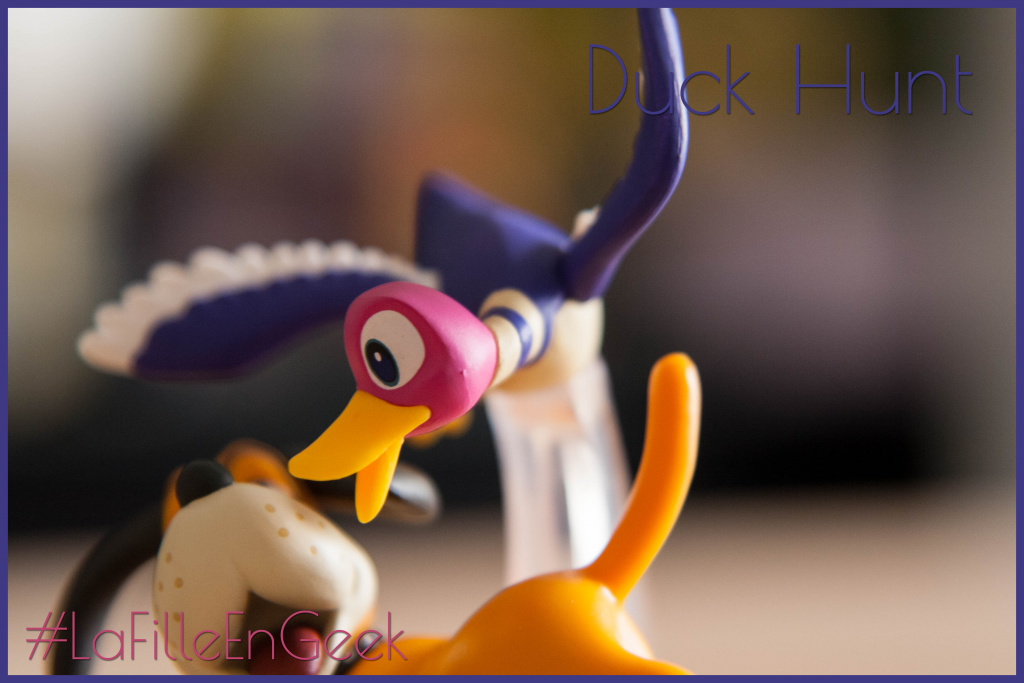 amiibo Duck hunt Fille Geek