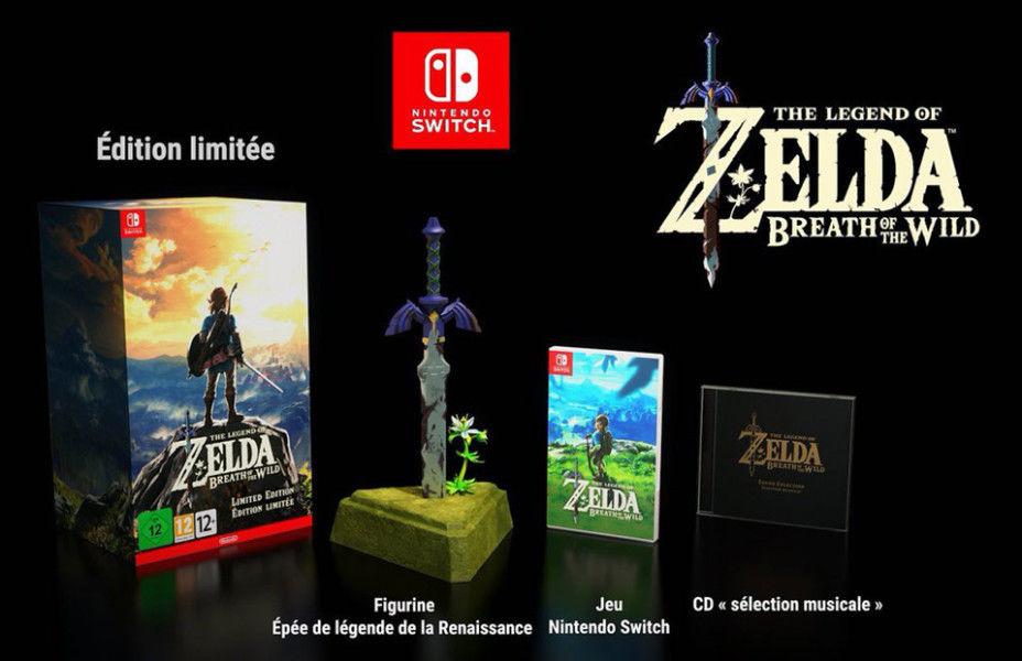 Collector Zelda Breath of the Wild Fille Geek