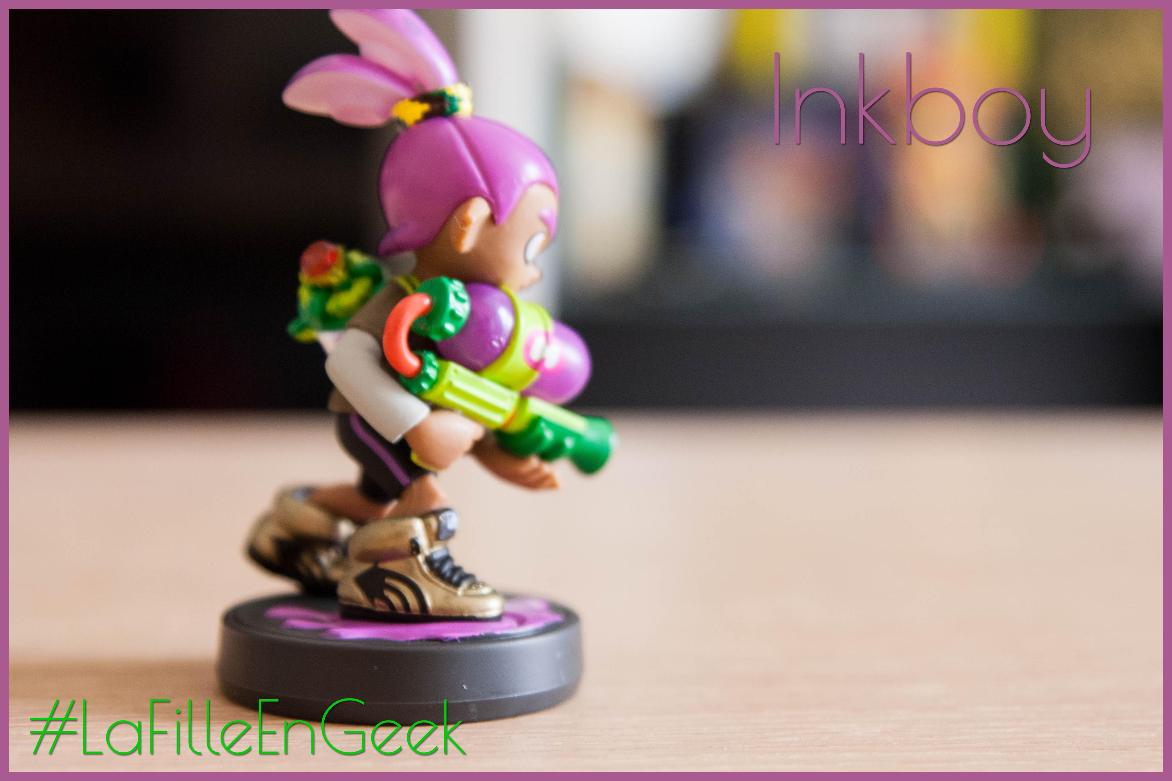 amiibo Inkboy violet Fille Geek