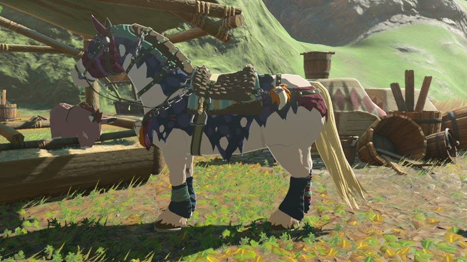 BOTW set monstrueux Fille Geek