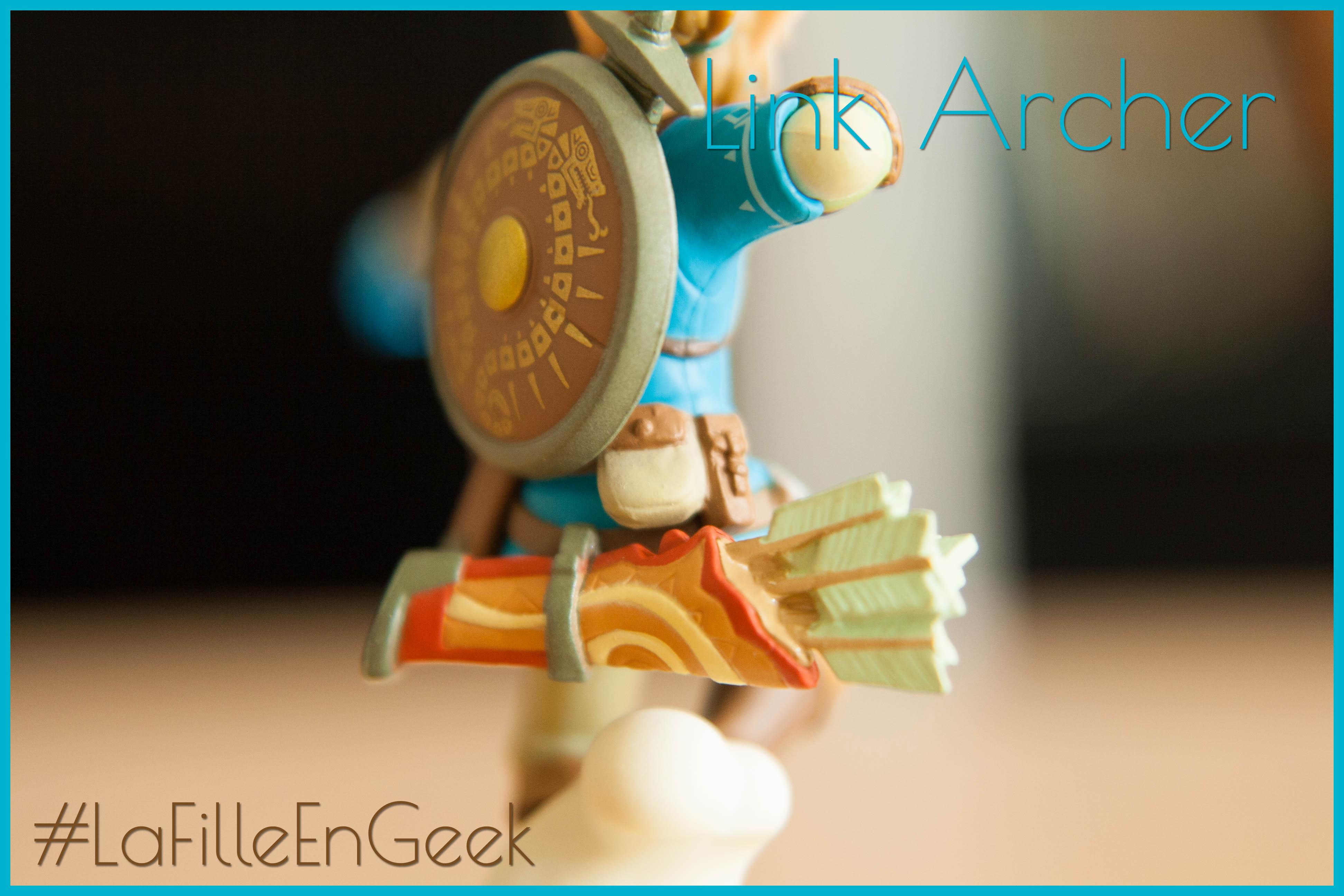 amiibo Link Archer Fille Geek