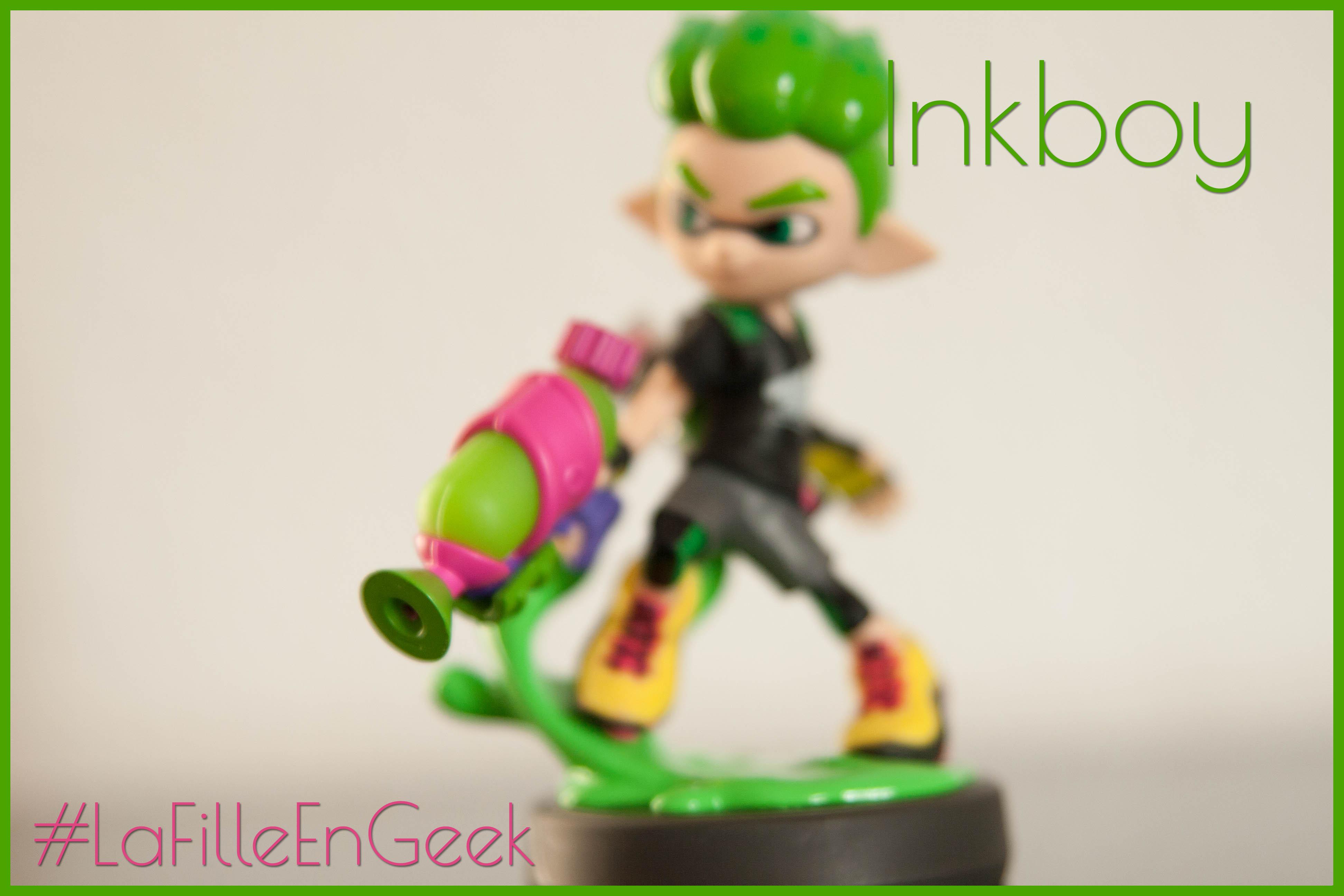 Amiibo Splatoon 2 Fille Geek