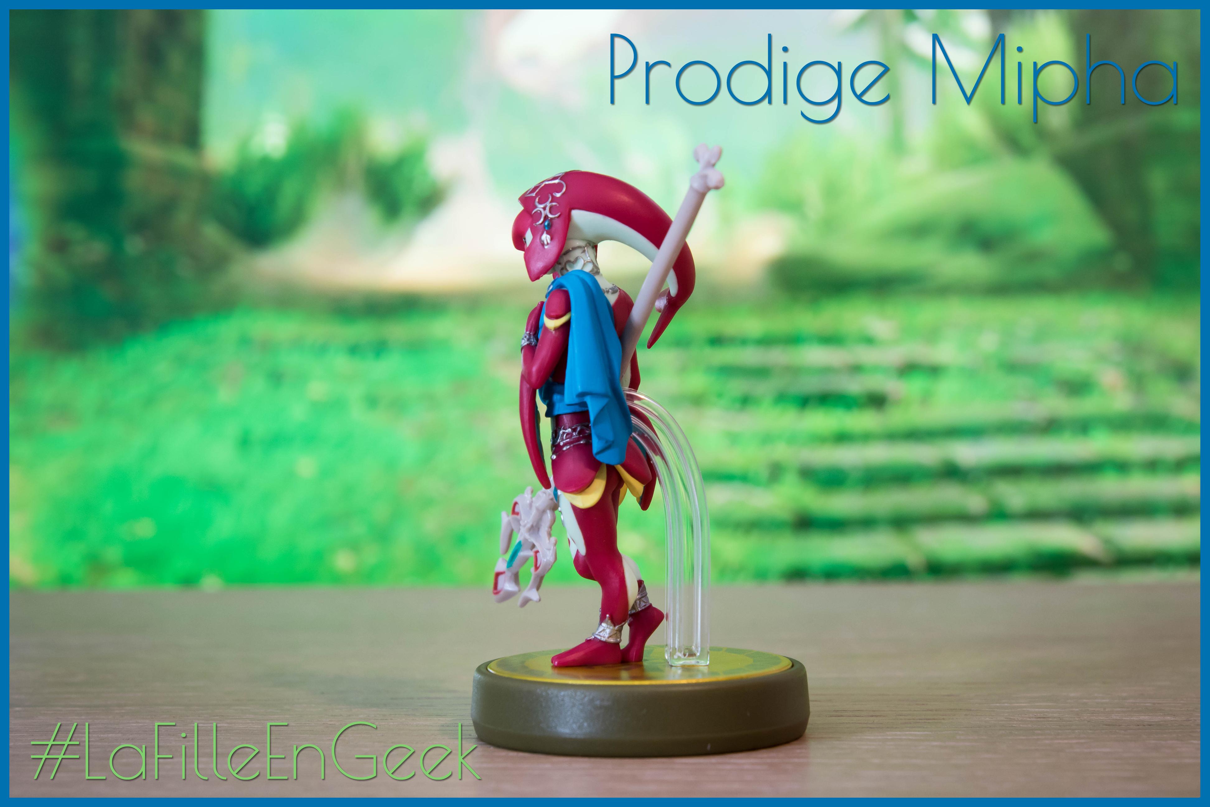Amiibo Prodige Mipha Fille Geek