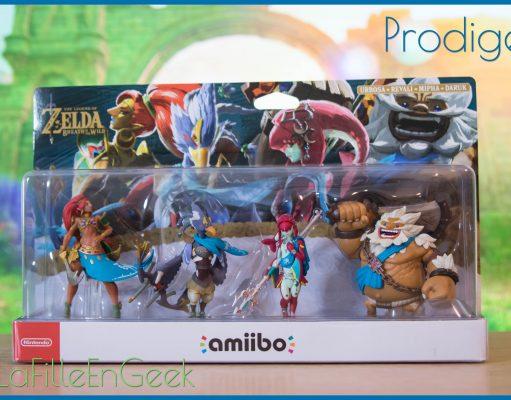 amiibo Prodiges Fille Geek