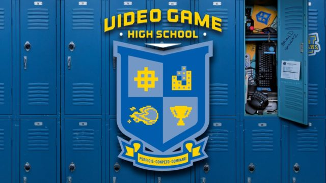 Video Game High School Fille Geek