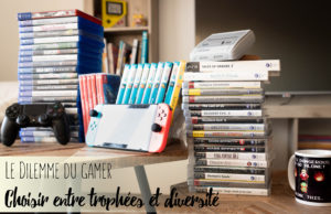 Le dilemme du gamer Fille Geek