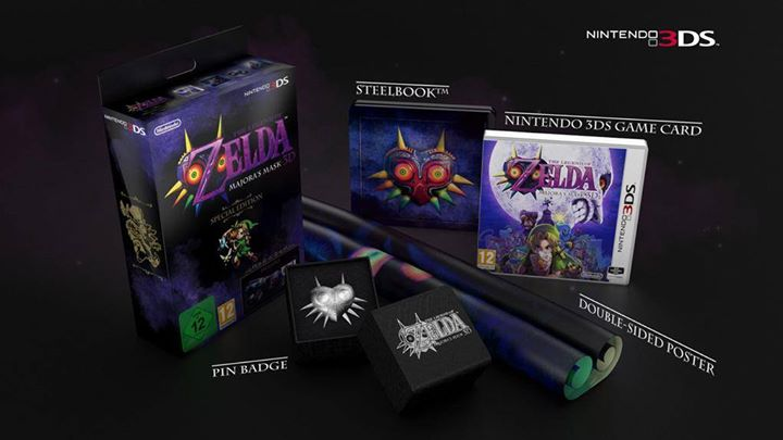 majora's mask Special Edition Fille Geek
