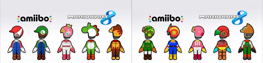 costumes amiibo MK8 Fille Geek