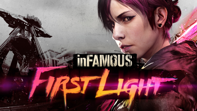 Infamous First Light Fille Geek