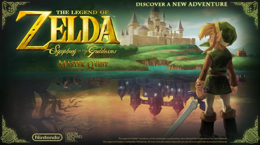 Zelda Symphony master Quest Fille Geek