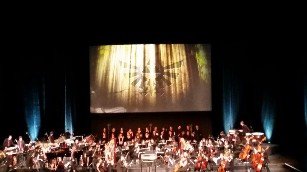 Concert de Zelda Symphony Fille Geek