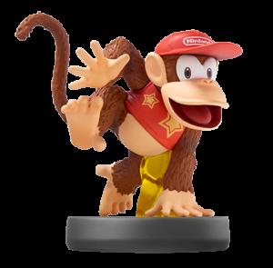 Diddy Kong Fille Geek
