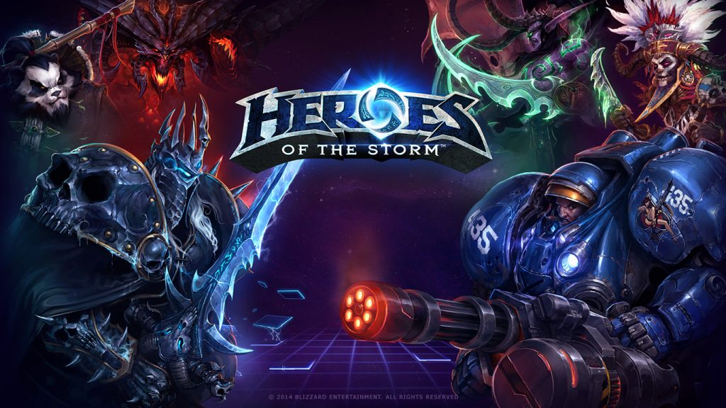 Hearthstone Heroes of the storm Fille Geek