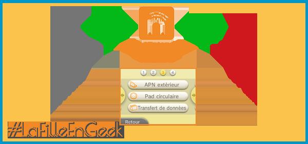 Transfert ID Nintendo Network Fille Geek