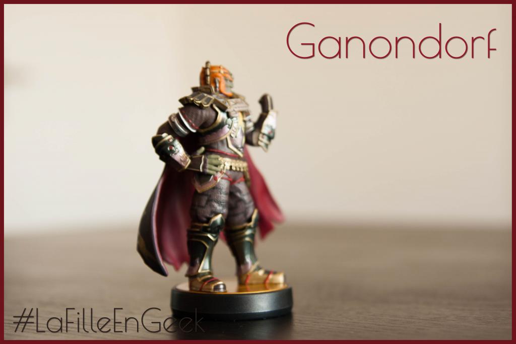 amiibo Ganondorf Fille Geek