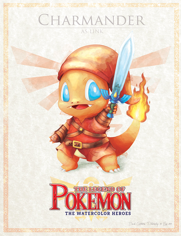 Legend of Pokemon Heroes Fille Geek